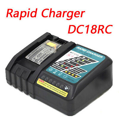 NEW DC18RC Rapid Fast Charger for Makita 14.4v 18v  BL1840 BL1850 Tool Battery
