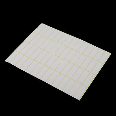 Variety of Size White Blank Self Adhesive Stickers Sealing Labels for Gift Pack