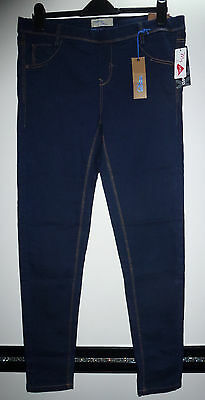 C&A Damen stretch Jeans Hose dunkel blau Jeggings Jegging Leg Gr. 46 - NEU