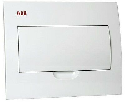 ABB CIRCUIT BREAKER ENCLOSURE LC18FMW 18-Poles, IP40 Rating, Flush Mount, White