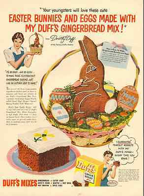 1951 vintage ad for Duff Gingerbread Mix -482
