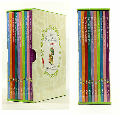 NEW Rrp £35 Beatrix Potter The Peter Rabbit Library 10 Book Collection Box Set