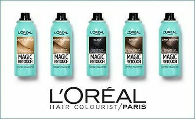 L'Oreal Magic Retouch Instant Root Concealer Spray Temporary Coverage
