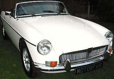 Mg/ Mgb 1800 Roadster,overdrive,restored,leather Seats,alloy Wheels