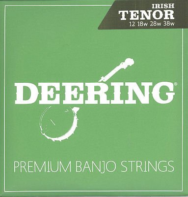 Deering 4 String Irish Tenor Banjo Strings 12 18W 28w 38w