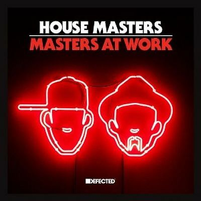"""Masters At Work M.a.w. """" House Masters """" Sealed Uk Lp Nuyorican Soul Voices New"""