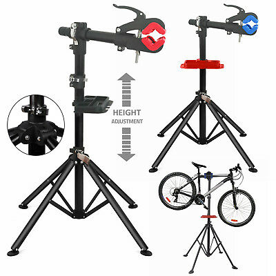 Bike Bicycle Adjustable Folding Repair Home Mechanic Maintenance Work Stand Rack