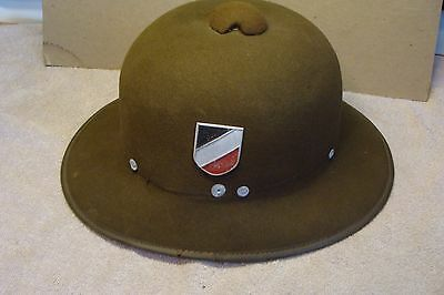 ORIGINAL ANTIQUE ww 2 German HEER Pith Helmet AFRICA AFRIKA CORPS WWII TROPICAL