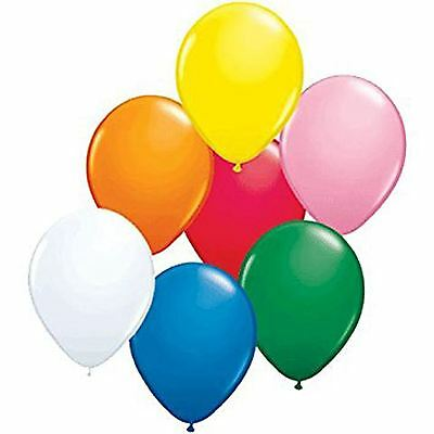 KRAFTZ® 12 Inches Metallic Helium Quality Latex Party Balloons Pack of 25