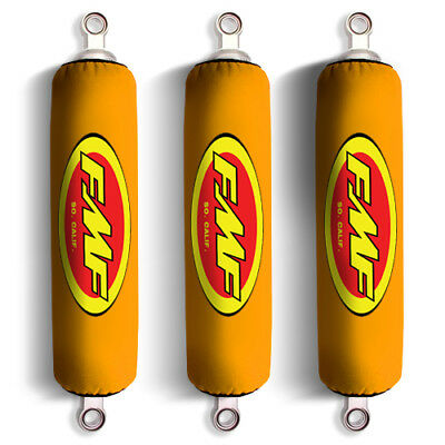 Yellow Shock Covers Honda Fourtrax Recon 250 Rancher 350 400 420 (Set of 3) NEW