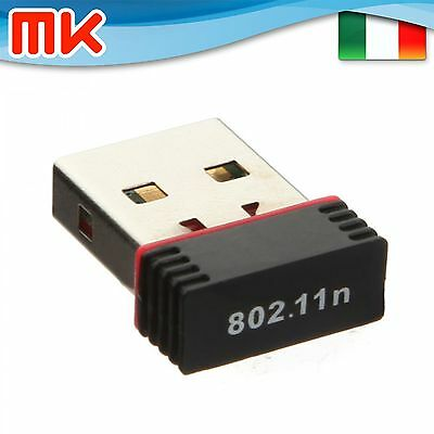 WL802 - Mini nano WiFi USB Wireless 802.11 n/g/b 150Mbps Raspberry Linux Win Mac