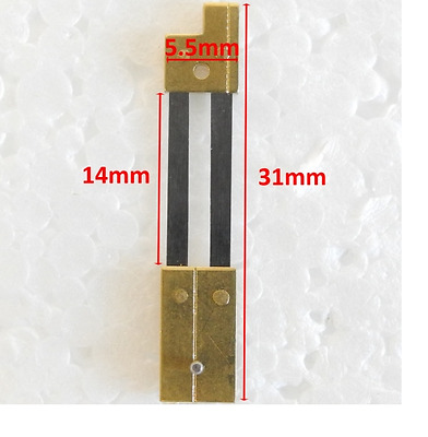 CLOCK SUSPENSION SPRING TOP QUALITY STEEL BRASS 31mm x 5.5mm x 14mm - CS58313