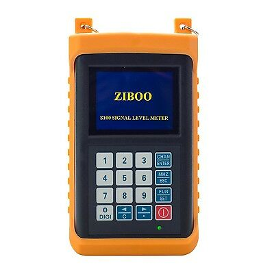 ZIBOO S100 Catv Cable Tv Handle Digital Signal Level Meter -New -Free Shipping