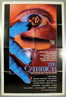 The Carrier - Gregory Fortescue - Original American One Sheet Movie Poster
