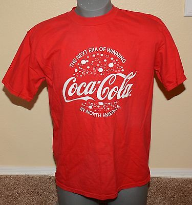 Vtg. Coca-Cola Graphic Tee Shirt, men's size Large