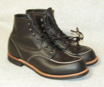 Men's Red Wing 2964 Coope Moc Boot  Black Size 11 D      NEW