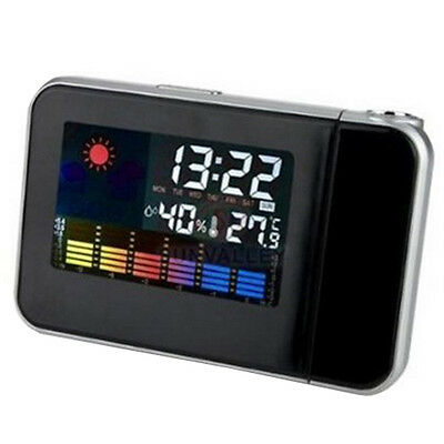 Projection Clock Indoor Weather Environment Station Temp Termerature Humidity
