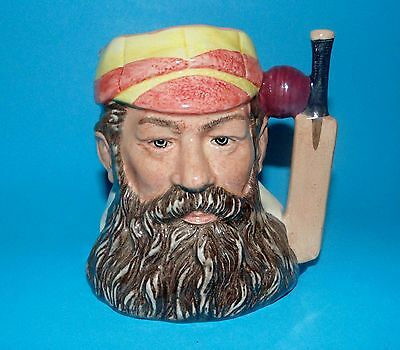 ROYAL DOULTON  character Jug 'W.G.Grace'  D6845 limited edition 1ST Quality