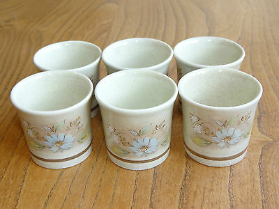Royal Doulton Lambethware Egg Cup - FLORINDA - LS1042 - Set of Six