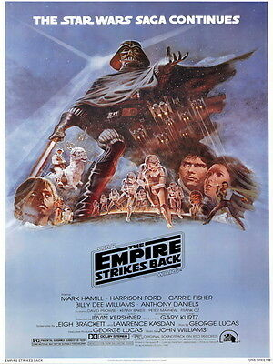 Star Wars The Empire Strikes Back Movie HUGE GIANT PRINT POSTER