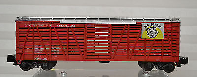American Flyer Compatable 00062 Northern Pacific Pig Pen 24001 Box S-Helper