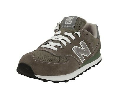 New Balance Shoes 574 Men's Running Sneakers M574GS - Gray/White
