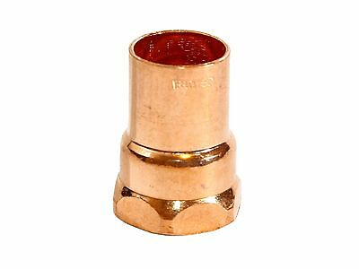 "(5 pcs) COPPER FEMALE ADAPTER CxF 1/2"" x 1/2"""