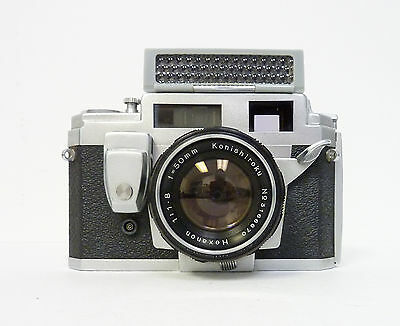 Konica III M with 50mm Hexanon F1.8