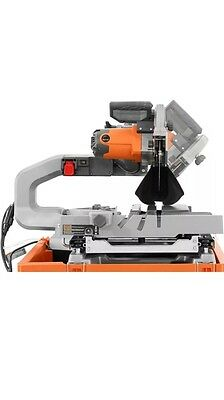Ridgid 10 In Wet Tile Saw With Stand R4092 15 Amp Cuts 24 To 34