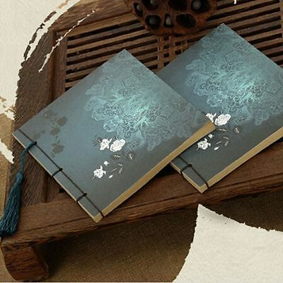 Classic Style Beautiful Sketches Wire-bound Notebook Kraft Paper Blank Page