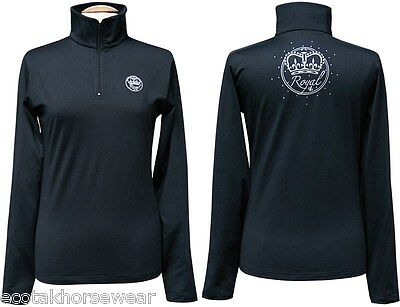 Harry's Horse Royal Competition Long sleeve Shirt - Black