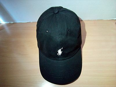 Polo Ralph Lauren Golf Baseball Cap Black/white with Tag But without Price Tag