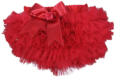 Baby frilly bow TUTU knickers nappy cover pants Spanish girl