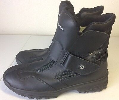 First gear Motorcycle touring Riding Boots size 45 us mens 12