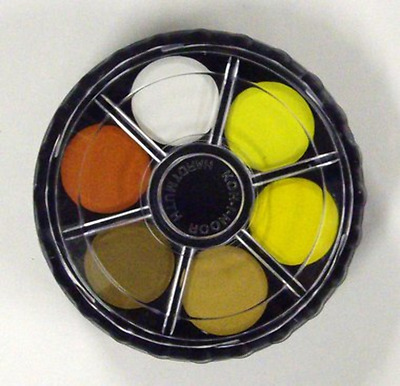 Koh I Noor Artists Watercolour Pans 24 Colours