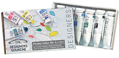 Daler Rowney Designer Gouache College Selection 6x15ml