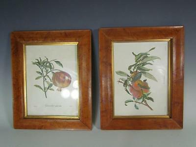 """PAIR OF VINTAGE 1960s BIRDSEYE PICTURE PAINTING FRAMES, GILT LINER, FITS 9X7 """""""