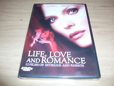 12 Movie Boxed Set: Life, Love & Romance!!! Brand New & Factory Sealed!!
