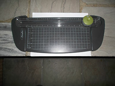 """Swingline 12"""" paper trimmer cutter w/concealed blade for safety fr office crafts"""
