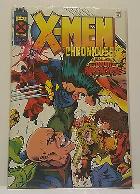 X-Men Chronicles #1 Dawn Of Apocalypse (Mar 1995, Marvel Comics) VF/NM