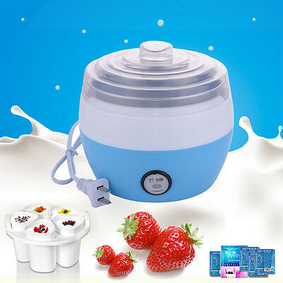 Automatic Stainless Steel Liner Yogurt Maker Machine DIY Yoghurt Container