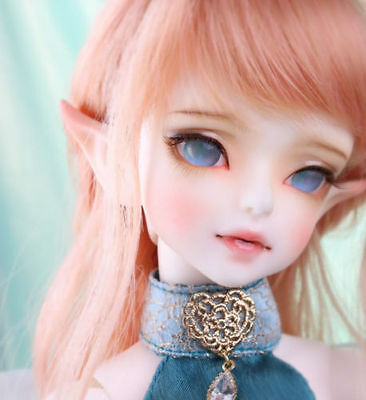 BJD 1/4 Doll Gril Ray (Luna) free eyes + free face make up-Human body