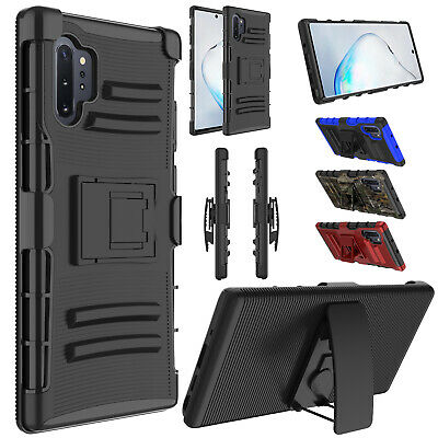 For Samsung Galaxy Note 9 S9 S8 Plus Case Cover With Kickstand Holster Belt Clip