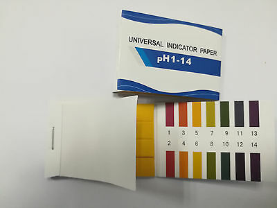 PH Test Strips 80 Strips Full PH Controller 1-14st Indicator Litmus Paper Water
