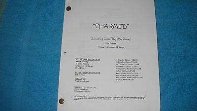 Charmed Tv Pilot Script - Shannen Doherty -  Alyssa Milano - Hollie Marie Combs