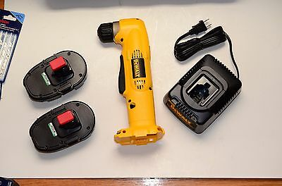 DeWalt DW960 Cordless Right Angle Drill in Case with 2 batteries NEW!