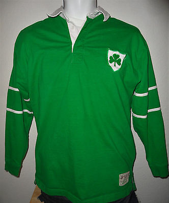 super popular e24cd bef0c VINTAGE 2003 RUGBY WORLD CUP IRELAND IRISH NATIONAL TEAM 13 RUGBY JERSEY  SHIRT M