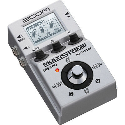 Zoom MS-50G Multi Stomp Guitar Effects Pedal