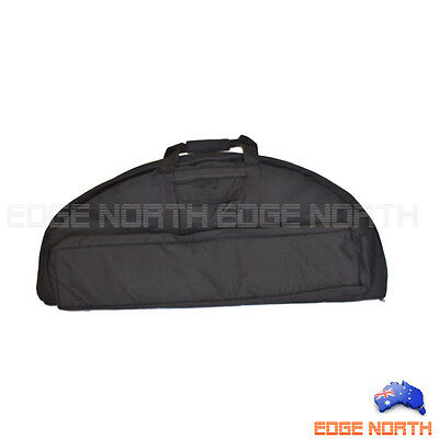 New COMPOUND BOW BAG 2 LAYER with ARROW HOLDER Hunting ARCHERY Carry BAG Black
