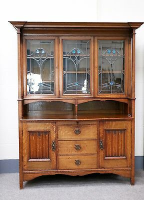 Arts and Crafts Oak Dresser, Shapland and Petter (100421)
